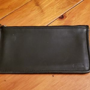 COACH Black Credit Card and $$ holder
